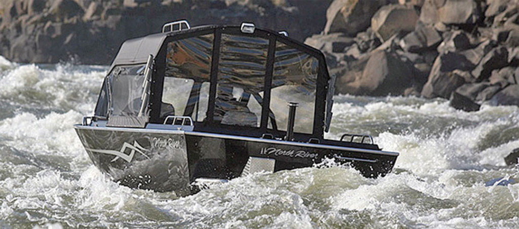 inboard jet drive river boats